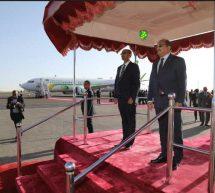 فعاليات وصول رئيس الجمهورية إلى أديس أبابا
