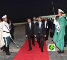 عودة الرئيس إلى البلاد قادما من أديس أبابا