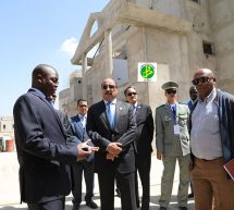 رئيس الجمهورية يتفقد سير العمل في مبنى سفارة البلاد في أديس بابا