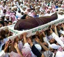 تشييع جثمان الشيخ عبدالعزيز بن صالح التويجري