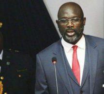رئيس ليبيريا الجديد جورج ويا  يخفض راتبه ب 25 % دعما لاقتصاد بلاده