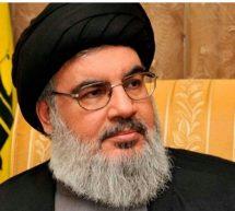 """شاهد الأمين العام لـ """"حزب الله"""" حسن نصر الله يلعب كرة القدم (فيديو)"""