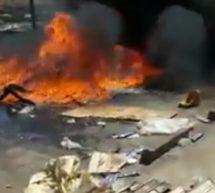 (فيديو) يوثق لبعض أعمال الشغب التي استهدفت موريتانيين في السنغال