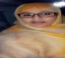 النائب خديجة منت محمدالصغير تطالب بفتح مجال المأموريات أمام الرئيس لإستكمال المشاريع العملاقة التي بدأهها