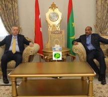 أردوغان يحل ضيفا على موريتانيا