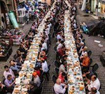 صورة اليوم : صورة لأكبر افطار جماعي بتركيا