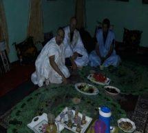 مائدة إفطار رمضاني تجمع سجين أگوانتنامو السابق ولد الصلاحي بسجانه