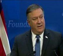 """الولايات المتحدة تتوعد بفرض """"أشد العقوبات صرامة في التاريخ"""" على إيران"""