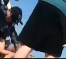 نشر مقطع فيديو لشرطي أمريكي يسدد لكمات لامرأة أثناء اعتقالها