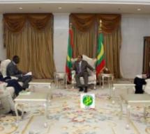رئيس الجمهورية يجتمع ببعثة من البنك الدولي