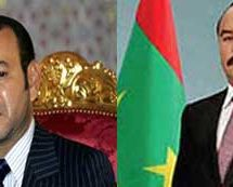 رئيس الجههورية يهنئ العاهل المغربي