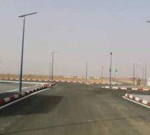 المعبر الحدودي ببن موريتانيا والجرائر