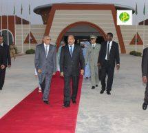 ولد عبد العزيز في زيارة لتركيا