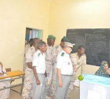 أفراد القوات المسلحة و قوات الأمن يدلون بأصواتهم في الانتخابات البلدية والنيابية والجهوية