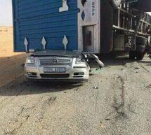 حادث سير أليم على طريق انواذيبو