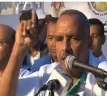 كلمة رئيس الجمعية الوطنية المنتخب  الشيخ ولد بايه