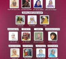صور وأسماء نواب البرلمان الجديد عن لا ئحة النساء