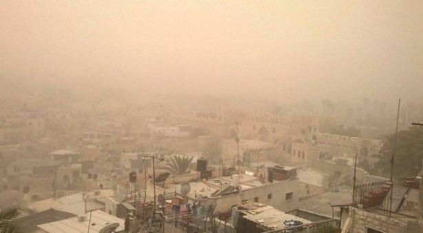 غبار وأتربة على عموم العاصمة انواكشوط