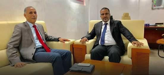 رئيس أرباب العمل زين العابدين يبحث فرص الشراكة مع توتس