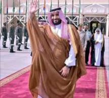 فعاليات وصول ولي العهد السعودي محمد بن سلمان إلى انواكشوط