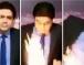 مذيع تلفزيوني يحترق على الهواء مباشرة (فيديو)