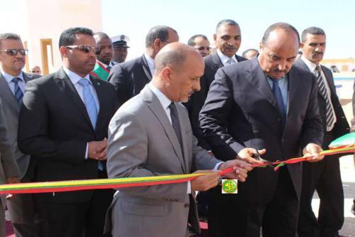 رئيس الجمهورية يزور مقر شركة المياه ويدشن التوسعة الجديدة