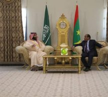 فخامة رئيس الجمهورية يجري مباحثات مع ولي العهد السعودي