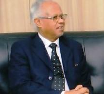 الحسين ولد مدو يعزي في وفاة الراحل الدكتور الشيخ ولد حرمة ولد بابانا
