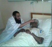 الشيخ الفخامة يطمئن على الحالة الصحية للمناضل الحقوقي بوبكر ولد مسعود (صورة)