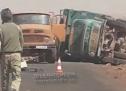 تعرض منقبين عن الذهب  لحادث سير