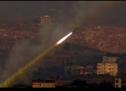 صاروخ ينطلق من  غزة  ويضرب  وسط إسرائيل