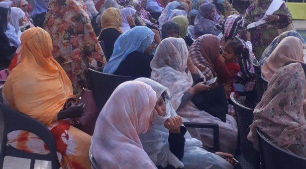 أسماء منت محمد لمين ولد الحسين تقود أكبر تظاهرة شبابية داعمة لولد الغزواني وسط حضور عكس حجم السيدة